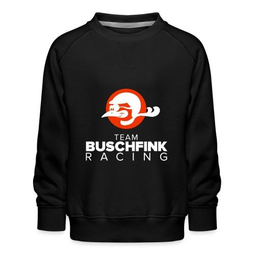 Team Buschfink Logo On Dark - Kids' Premium Sweatshirt