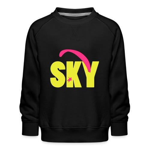 sky - Kinder Premium Pullover