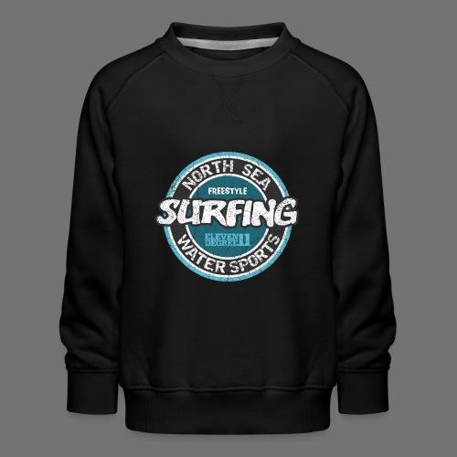 North Sea Surfing (oldstyle) - Bluza dziecięca Premium