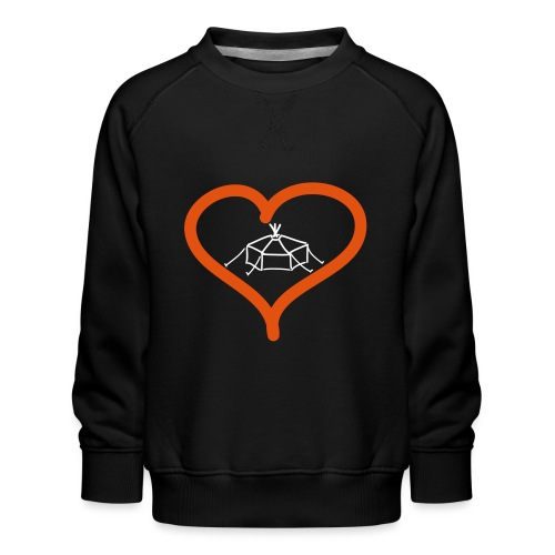Herzjurte - Kinder Premium Pullover