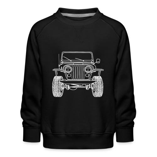 Jeep CJ 8 Scrambler - Sweat ras-du-cou Premium Enfant