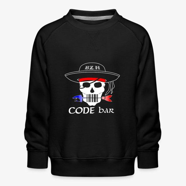 Code Bar white