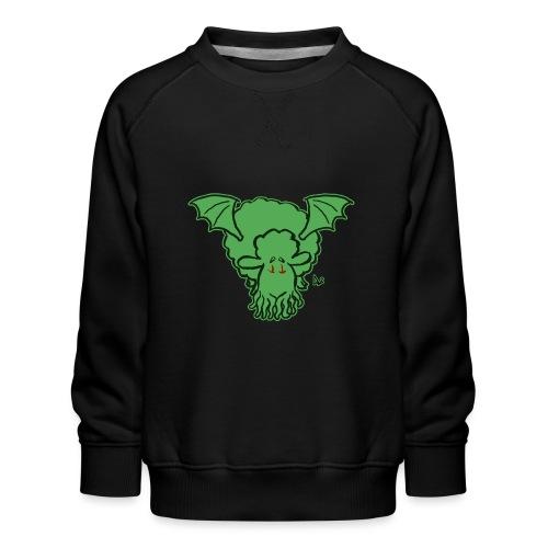 Cthulhu får - Børne premium sweatshirt