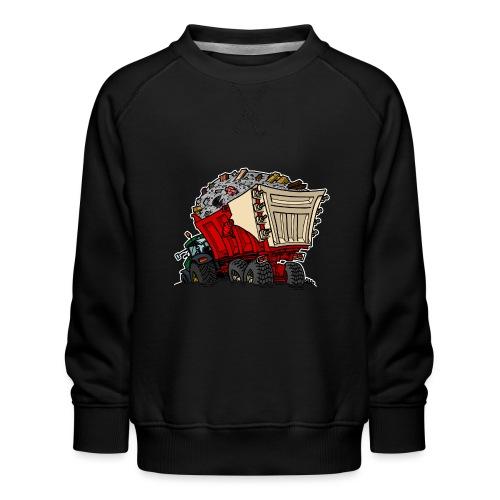 0956 kar PUIN - Kinderen premium sweater