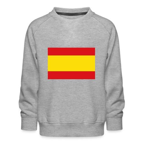 vlag van spanje - Kinderen premium sweater