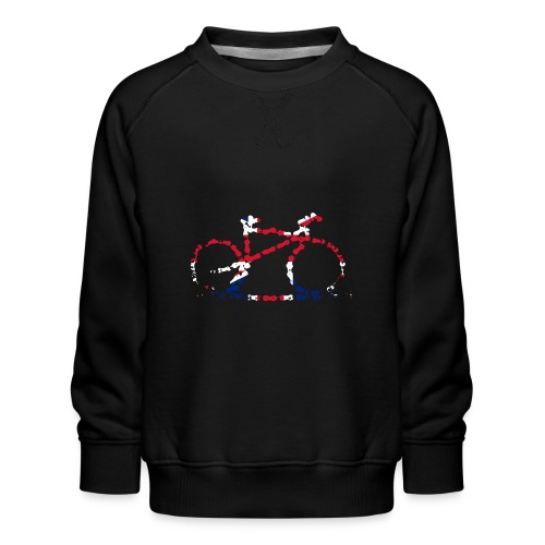 GB Cycling Chain Print - Kids' Premium Sweatshirt