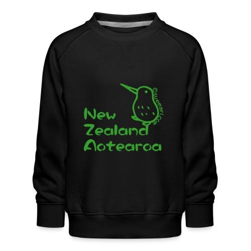 New Zealand Aotearoa - Kids' Premium Sweatshirt