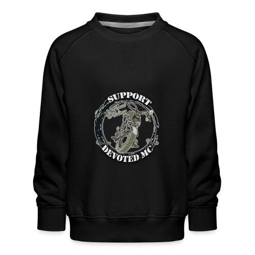 T-Shirt DEVOTEDMC SUPPORTSHOP10007 - Premium-genser for barn