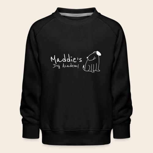 Académie des chiens de Maddie (blanc) - Sweat ras-du-cou Premium Enfant