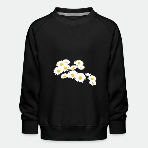 Spring Season Daisies - Kids' Premium Sweatshirt