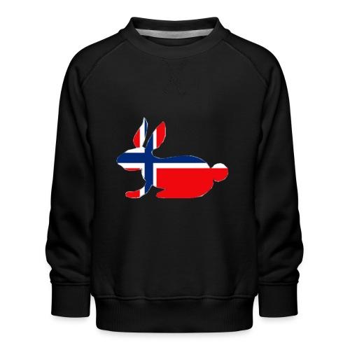 bunny logo - Kids' Premium Sweatshirt