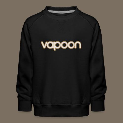 Vapoon Logo simpel 2 Farb - Kinder Premium Pullover