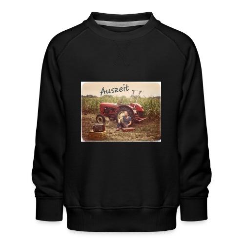 Auszeit - Kinder Premium Pullover