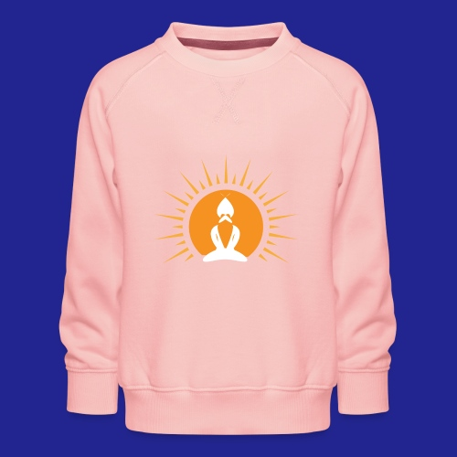 Guramylyfe logo white no text - Kids' Premium Sweatshirt