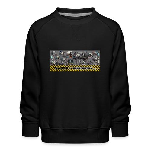 #MarchOfRobots ! LineUp Nr 1 - Børne premium sweatshirt