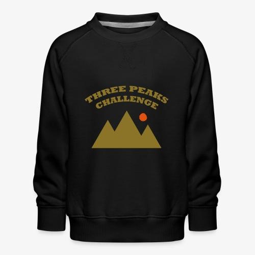 Three Peaks Challenge - Kids' Premium Sweatshirt