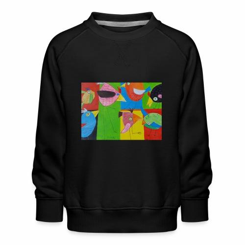 Lovebirds - Liebesvögel - Kinder Premium Pullover