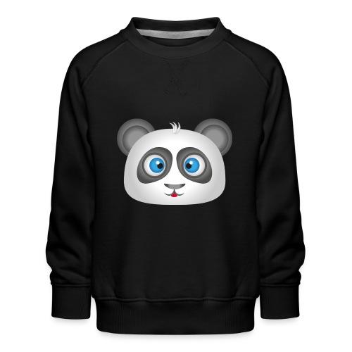 panda head / cabeza de panda 2 - Sudadera premium para niños y niñas