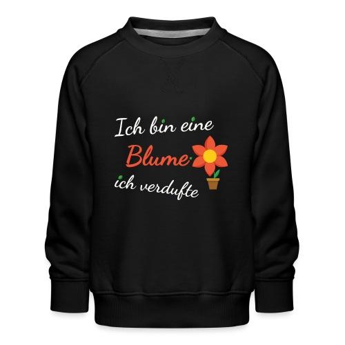 Blume Garten Gärtner Florist Shirt Geschenk - Kinder Premium Pullover
