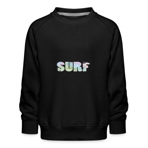 Surf summer beach T-shirt - Kids' Premium Sweatshirt