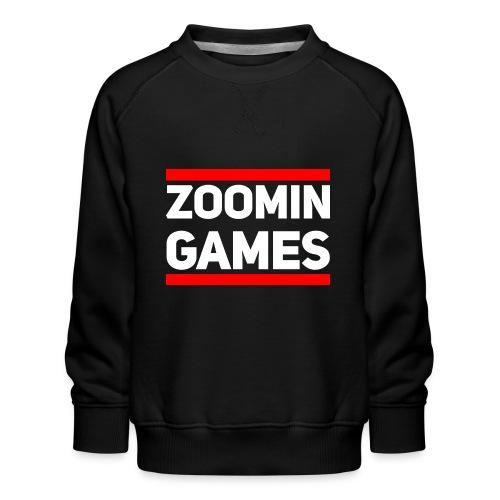 9815 2CRun ZG White - Kids' Premium Sweatshirt