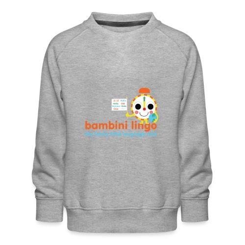 bambini lingo - the lovely little language club - Kids' Premium Sweatshirt