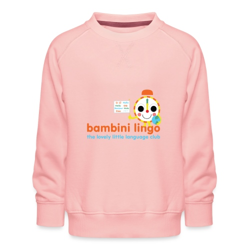 bambini lingo - the lovely little language club - Kids' Premium Sweatshirt