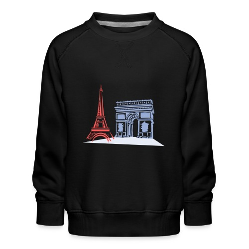 Paris - Sweat ras-du-cou Premium Enfant
