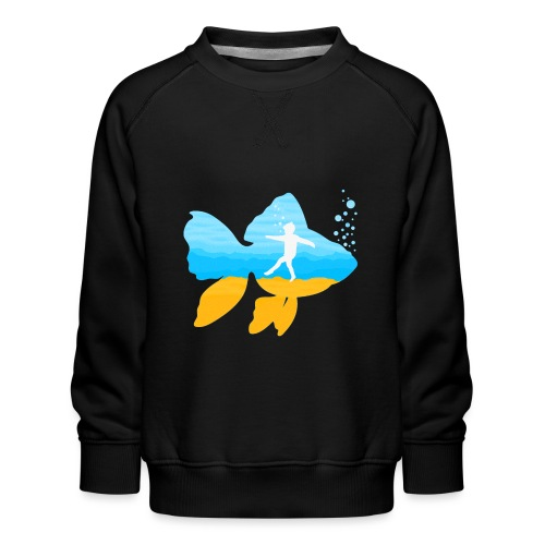 GEVOELIG VISJE - Kinderen premium sweater