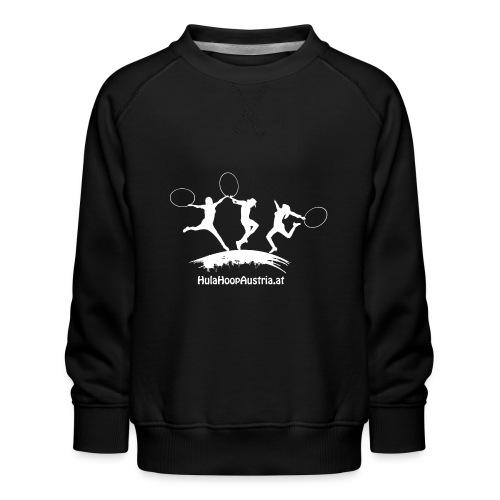 Hula Hoop Jumping Shadow White - Kinder Premium Pullover