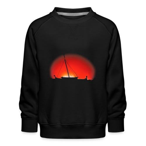 Bear Sunset - Kids' Premium Sweatshirt