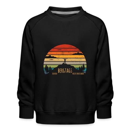 lustige Wanderer Sprüche Shirt Geschenk Retro - Kinder Premium Pullover