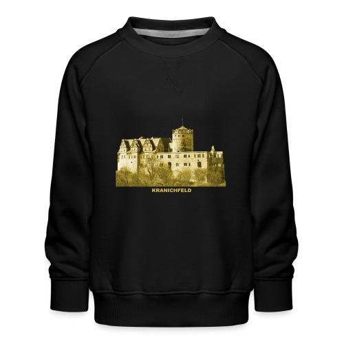 Kranichfeld Schloss Oberschloss Thüringen - Kinder Premium Pullover