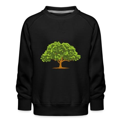 Groene boom - Kinderen premium sweater