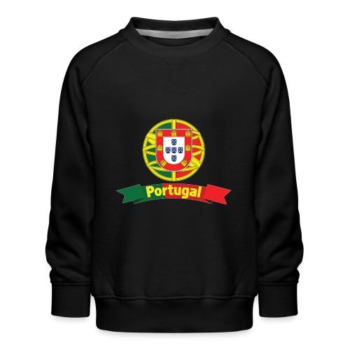 Portugal Campeão Europeu Camisolas de Futebol - Kids' Premium Sweatshirt