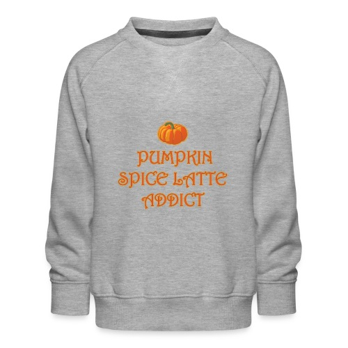 PumpkinSpiceAddict - Felpa premium da bambini