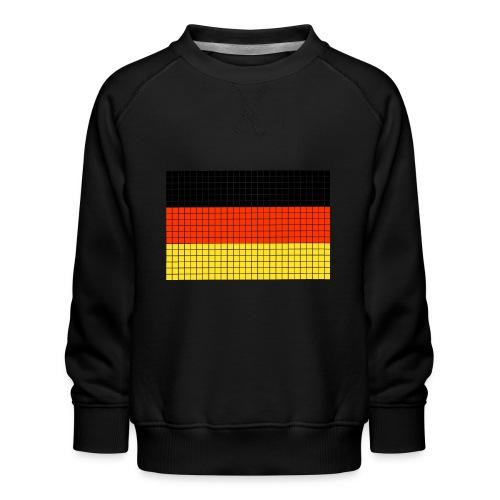 german flag.png - Felpa premium da bambini