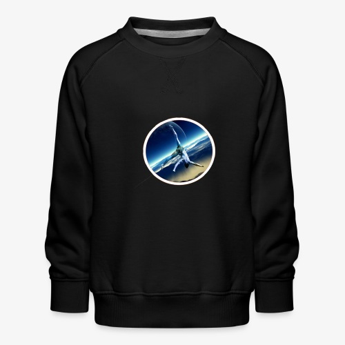Space Flip - Sweat ras-du-cou Premium Enfant