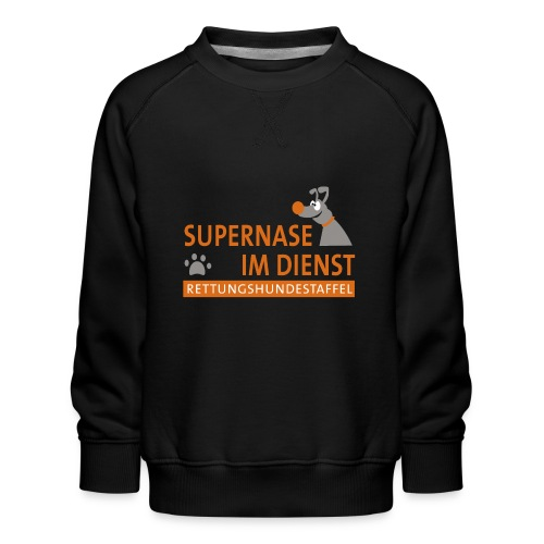 Supernase im Dienst - Kinder Premium Pullover