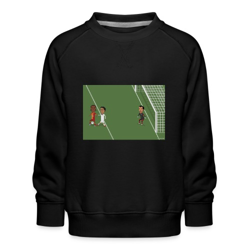 Backheel goal BG - Kids' Premium Sweatshirt