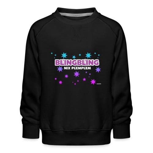 blingbling nixplemplem - Kinder Premium Pullover