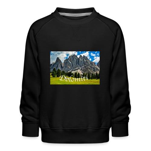 Naturpark Puez Geisler - Kinder Premium Pullover