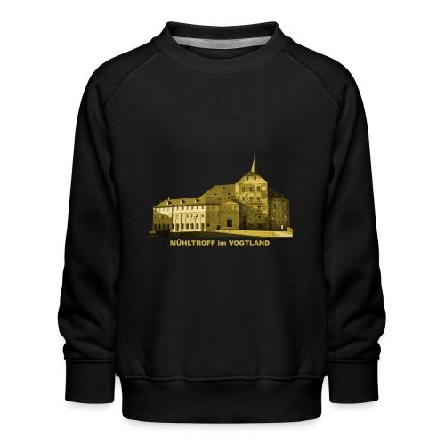 Mühltroff Burg Schloss Vogtland Sachsen - Kinder Premium Pullover