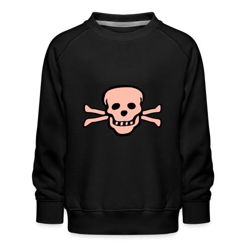 skull tattoo style - Kinder Premium Pullover