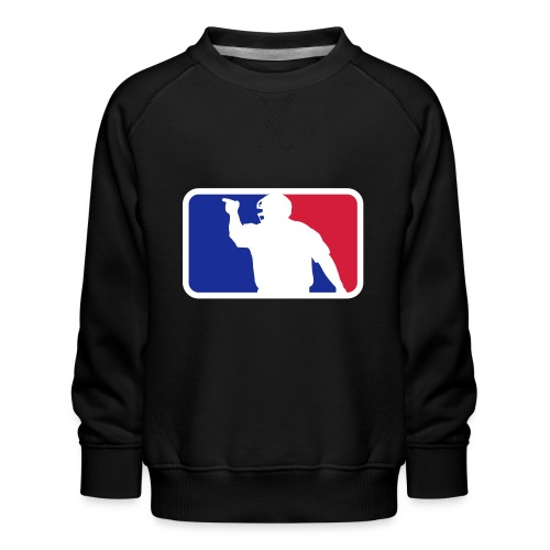 Baseball Umpire Logo - Kids' Premium Sweatshirt