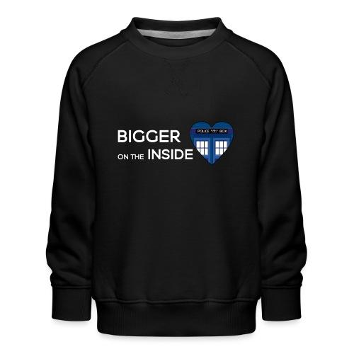 Tardis Heart - Kids' Premium Sweatshirt