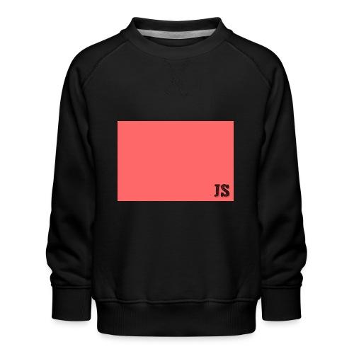 JustSquares Roze - Kinderen premium sweater
