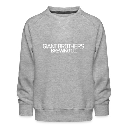 Giant Brothers Brewing co white - Premiumtröja barn