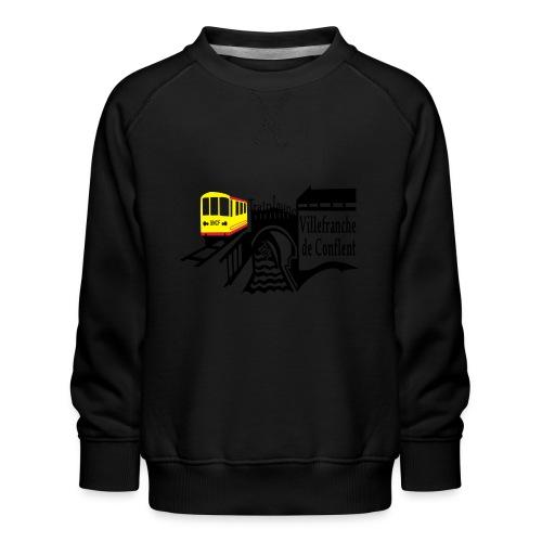 train jaune villefranche de conflent - Kinder Premium Pullover
