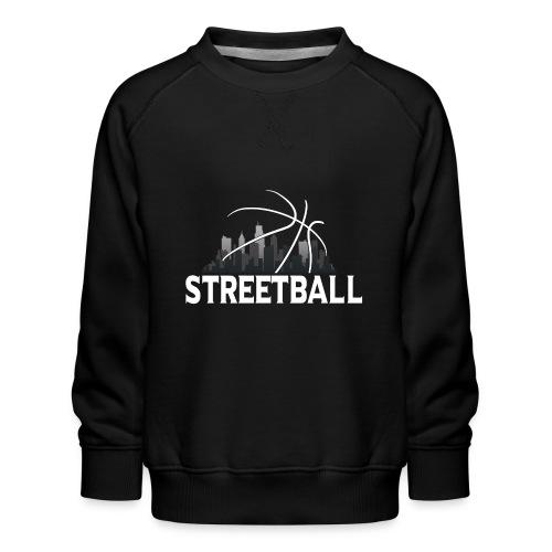 Streetball Skyline - Street basketball - Kids' Premium Sweatshirt